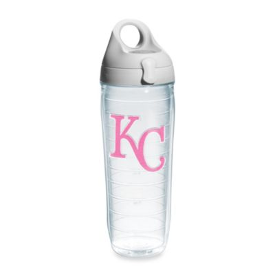 Tervis® Kansas City Royals Emblem 24–Ounce Water Bottle with Lid in Neon Pink