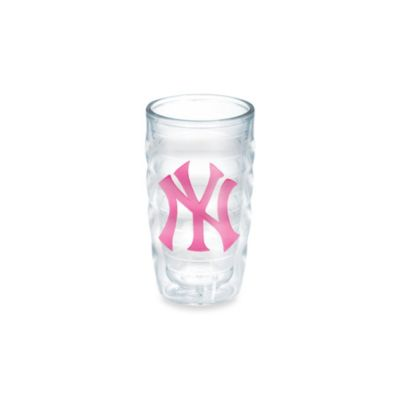 Tervis® MLB New York Yankees Emblem 10 oz. Wavy Tumbler in Neon Pink