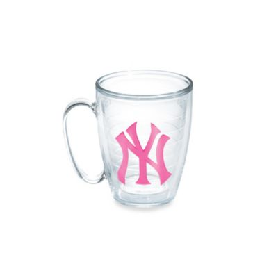 Tervis® Neon Pink MLB New York Yankees Emblem 15 oz. Mug