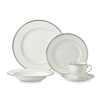 Gothic Platinum 5-Piece Place Setting