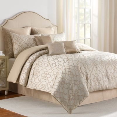 Iron Gates 4-Piece California King Comforter Set