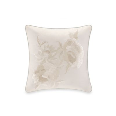 Natori Mantones de Manila 20-Inch Square Toss Pillow in Pearl