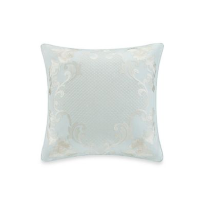 Natori Mantones de Manila 18-Inch Square Toss Pillow in Azul Blue
