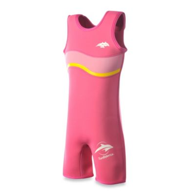 Konfidence Warma Size 4-5 Years Neoprene Wetsuit in Fuchsia