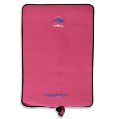 Konfidence Roll & Go Babychanger Changing Pad in Fuchsia