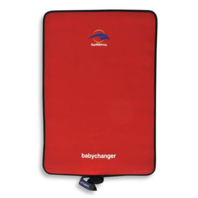 Konfidence Roll & Go Babychanger Changing Pad in Red