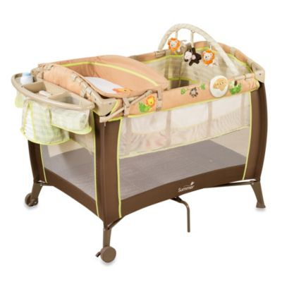 Summer Infant® Swingin Safari Grow with Me Playard and Changer