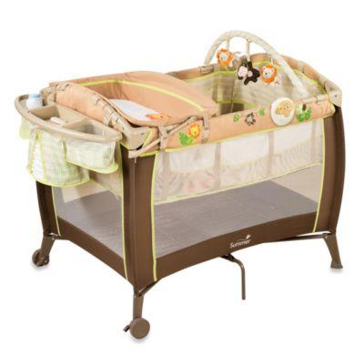 Summer Infant® Swingin Safari Grow with Me Playard and Changer