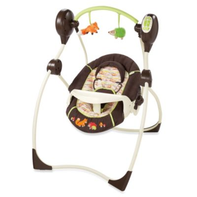 The Summer Infant® Fox & Friends Sweet Sleep Musical Swing