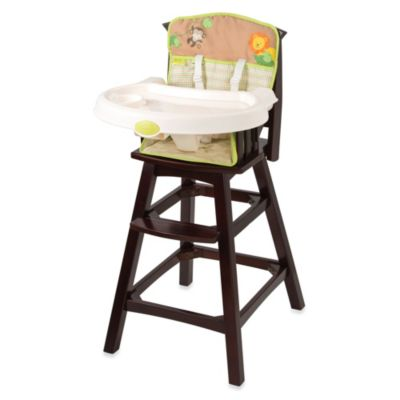 Summer Infant® Classic Comfort Wood Highchair in Swingin Safari