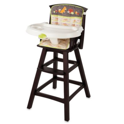 The Summer Infant® Fox & Friends Classic Comfort Wood High Chair