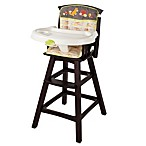 The Summer Infant® Fox & Friends Classic Comfort Wood Highchair