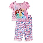 Pink Princess 2-Piece PJs