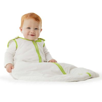 Baby Deedee® Sleep Nest® Size 0-6 Months Sleeping Bag in White