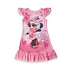 Minnie Mouse Diva Ruffle Night Gown