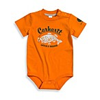 Carhartt Catch & Release Short-Sleeve Bodysuit in Orange