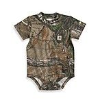 Carhartt Real Tree Short-Sleeve XTRA® Bodysuit in Brown