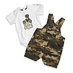 Carhartt® Camo Washed Ripstop Bib Shortall 2-Piece Set
