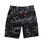 Levi's® Boy's Cadet Cargo Short in Grey Camo