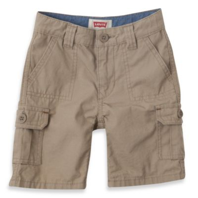 Levi's® Boy's Cadet Cargo Short in Khaki