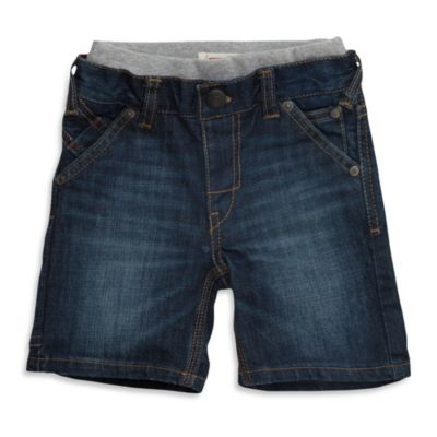 Levi's® Boy's Denim Holster Short in Hudson Blue