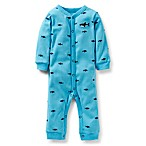 Carter's® Blue Shark 1-Piece Coverall