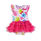Absorba Newborn Floral Tutu Dress