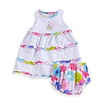 Absorba Jardin Playette Skirted Dress Set