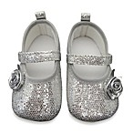 Rising Star Glitter Ballet Shoe in Silver