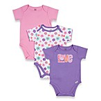 Lamaze® Bird 3-Pack Cotton Bodysuits in Assorted Colors/Prints