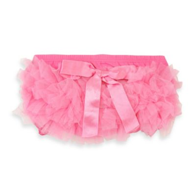 Ruffly Rumps by RuffleButts® Size 0-6 Months Pink Bloomers
