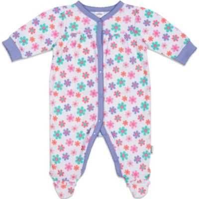 Lamaze® Sleep 'n Play Floral Ruffle 1-Piece Footie