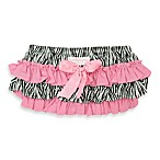 Ruffly Rumps by RuffleButts™ Zebra and Pink Bloomer