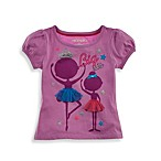 Kidtopia Big Sis Ballerinas Tee in Purple
