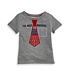 Kidtopia I've Been Promoted to Big Brother Tee in Heather Grey