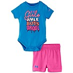Under Armour® Girls Rule, Boys Drool Set