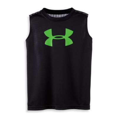 Under Armour® Logo Print Tank in Black