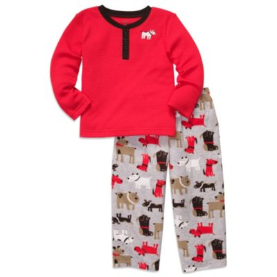Carter's® Red Dog 2-Piece Thermal Top PJs