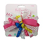 So 'Dorable® Happy Birthday Multi-Loop and Curlies Bow Clip