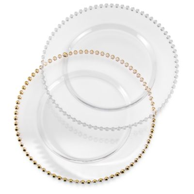 Belmont 13-Inch Gold Colored Charger Plate