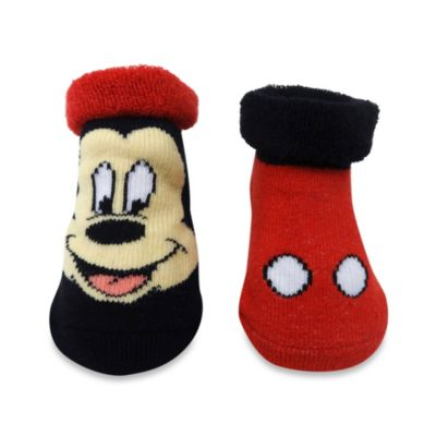 Rising Star 2-Pack Mickey Mouse Bootie Set