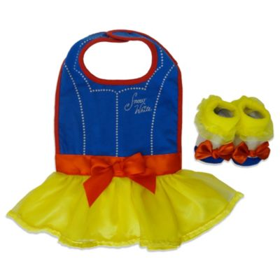 Snow White Bib and Bootie Set