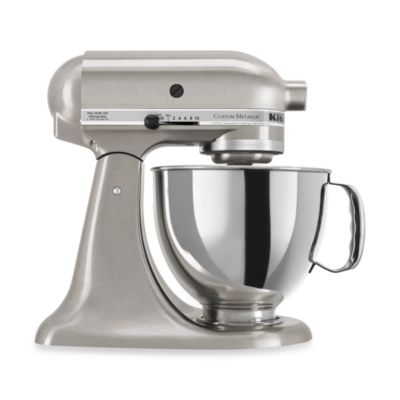 KitchenAid® 5-Quart Artisan™ Custom Metallic Stand Mixer in Nickel