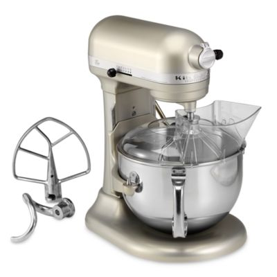 KitchenAid® Professional 600™ Series 6-Quart Bowl Lift Stand Mixer in Nickel Pearl