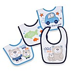 Lamaze® Baby Bear 4-Pack Terry Bibs