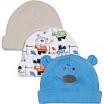 Lamaze® 3-Pack Bear Theme Caps