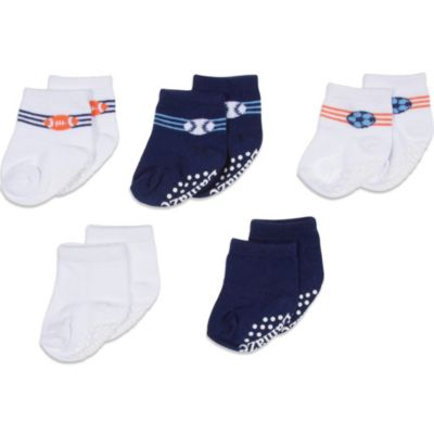 Lamaze® Size 0-6 Months 5-Pack Sport Terry Socks in Assorted Colors