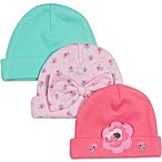 Lamaze® 3-Pack Floral/Bow Theme Caps