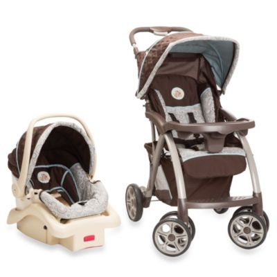 Travel Systems > Disney® Baby Saunter Luxe Travel System in My Hunny Stripes