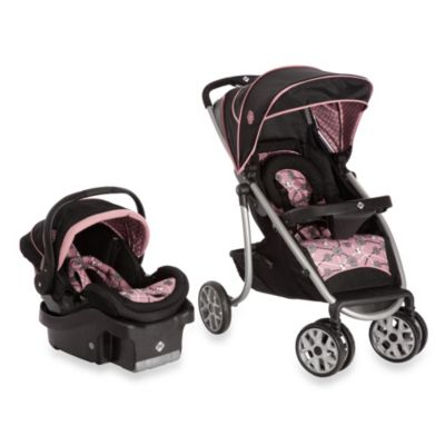 Safet 1st® SleekRide™ LX Travel System in Vintange Romance